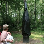 Annmarie Sculpture Garden & Arts Center features a one-quarter-mile walking path that meanders through the woods past permanent and loaned sculpture.