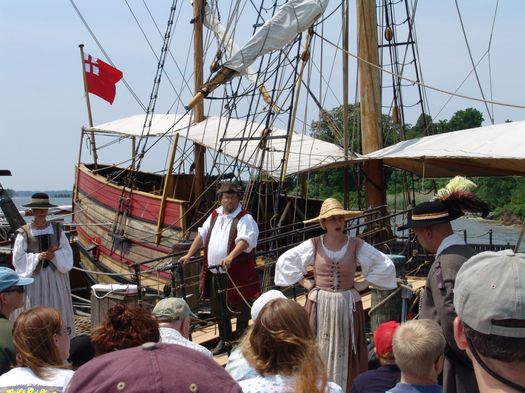 Celebrating the Maritime Heritage Festival at Historic St. Mary's City