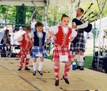 Traditional dance exhibitions are held throughout the annual Celtic Festival in April at Jefferson Patterson Park and Museum