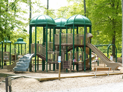 Playground at Gilbertt Run Park