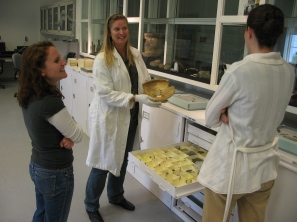 Tours of the Maryland Archaeological Conservation Lab are popular with visitors to Jefferson Patterson Park and Museum