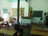 Overseen by the Friends of the One-Room Schoolhouse, it is used by school groups to experience a day in the life of a turn of the 20th century student.