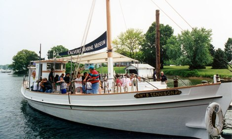 Enjoy specialty cruises all year long aboard the historic Wm. B. Tennison departing from the Calvert Marine Museum. Built in 1899, the Tennison is the only Coast Guard licensed log-hulled, passenger carrying vessel in the United States.