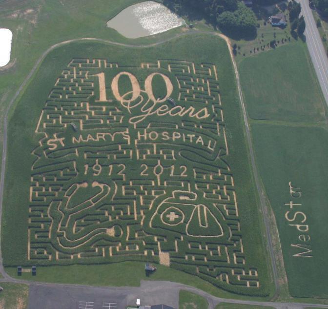 Bowles Farms Corn Maze