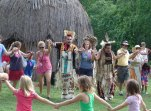 Special events, like Woodland Indian Discovery Day, bring focus to different aspects of life in early Maryland at Historic St. Mary's City.