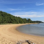 Newtowne Neck State Park has long stretches of inviting beaches.