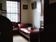 One of the rooms in the jail keeper's quarters.