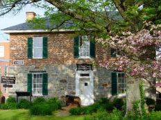 The Old Jail Museum in Leonardtown is a county visitor information center with exhibits on St. Mary's County history.