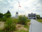 The Piney Point Lighthouse Museum and Historic Park is accessible by boat.