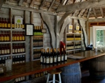 The bright and airy tasting room provides an enjoyable space to sample award winning wines from Slack Farms.