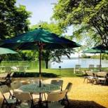 Enjoy beautiful views of Calvert Creek at Woodlawn Inn and Estate.