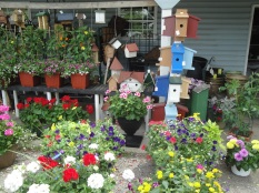 An assortment of locally grown and crafted items