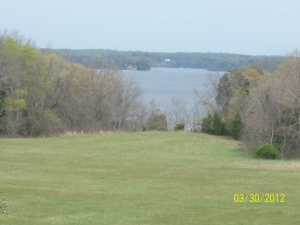 The site of the Battle of St. Leonard Creek, seen from Sotterley.