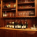 Selection of wines displayed at Fridays Creek Winery
