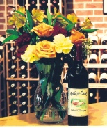 """Fridays Creek Winery describes their Cabernet Sauvignon as having """"soft tannins with vanilla tones from the American Oak barrel aging with a peppery finish."""""""