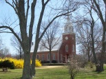 Christ Episcopal Church was built in 1736 at the former port village of Chaptico near the Wicomico River, a tributary of the Potomac River in St. Mary's County.