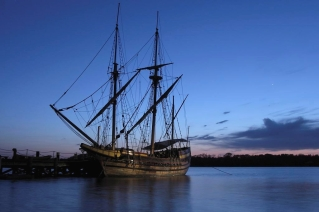 The Maryland Dove at Sunset, Historic St. Mary's City