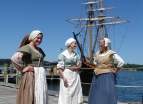 Costumed Interpreters at Historic St. Mary's City