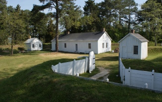 Visitors to Fort Lincoln, located inside Point Lookout State Park, can explore this Civil War fort at their own pace.
