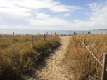 Point Lookout State Park has multiple paths and trails leading to the water.